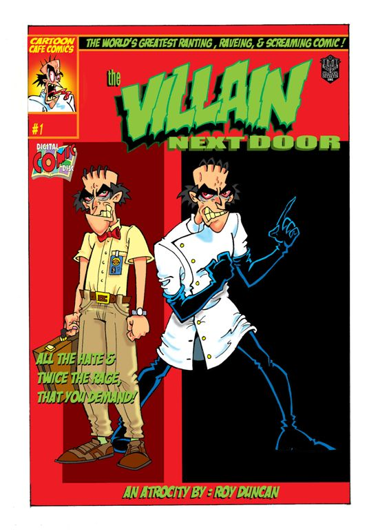 Cover For (The Villain Next Door)